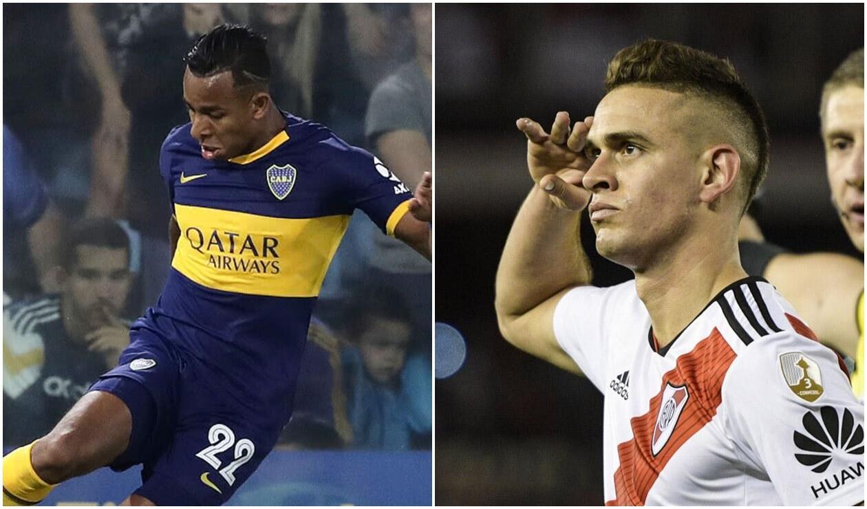 Sebastián Villa y Santos Borre / Boca y River
