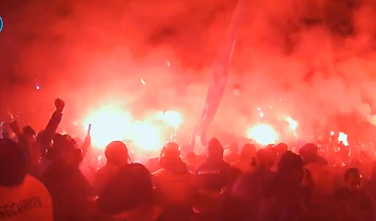 Ultras del PSG en Champions League