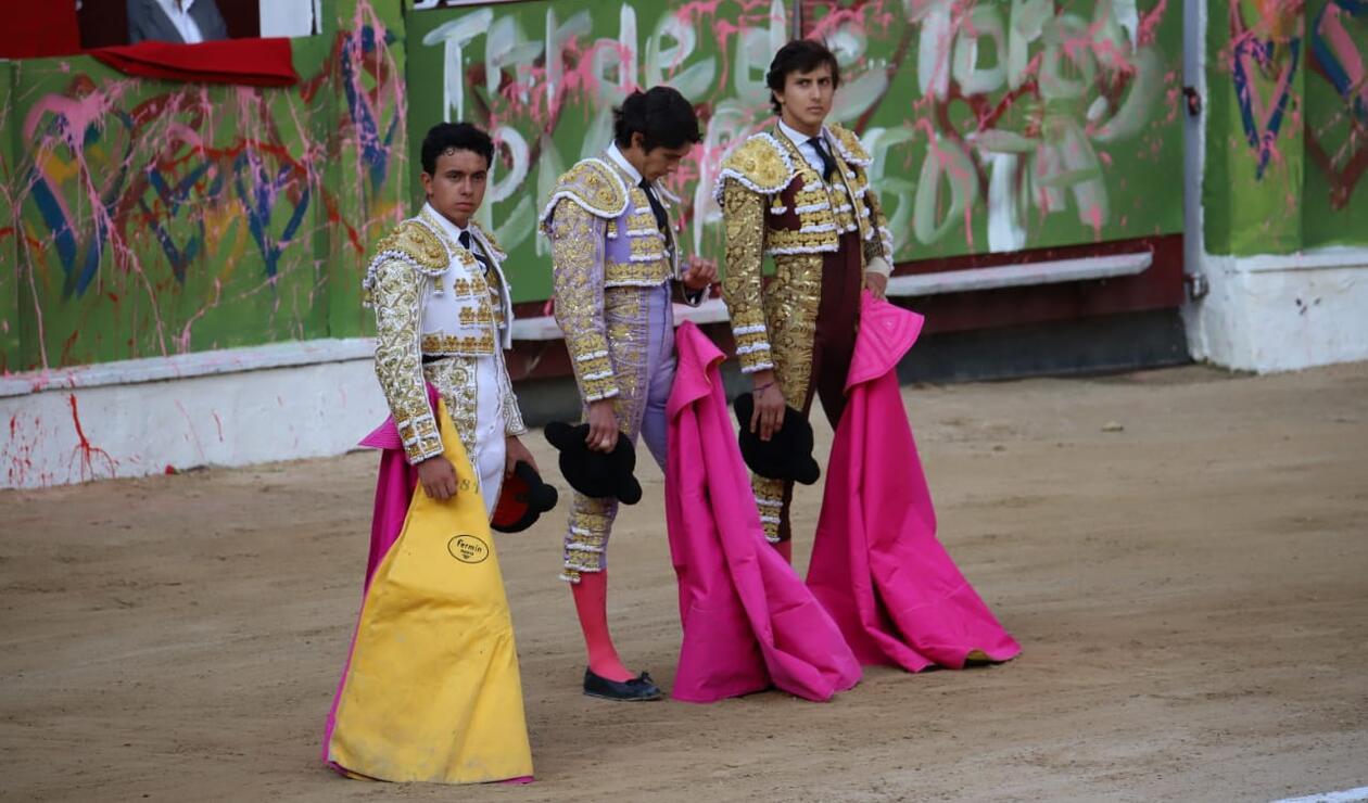 Juan de Castilla, Roca Rey y Sebastián Castella