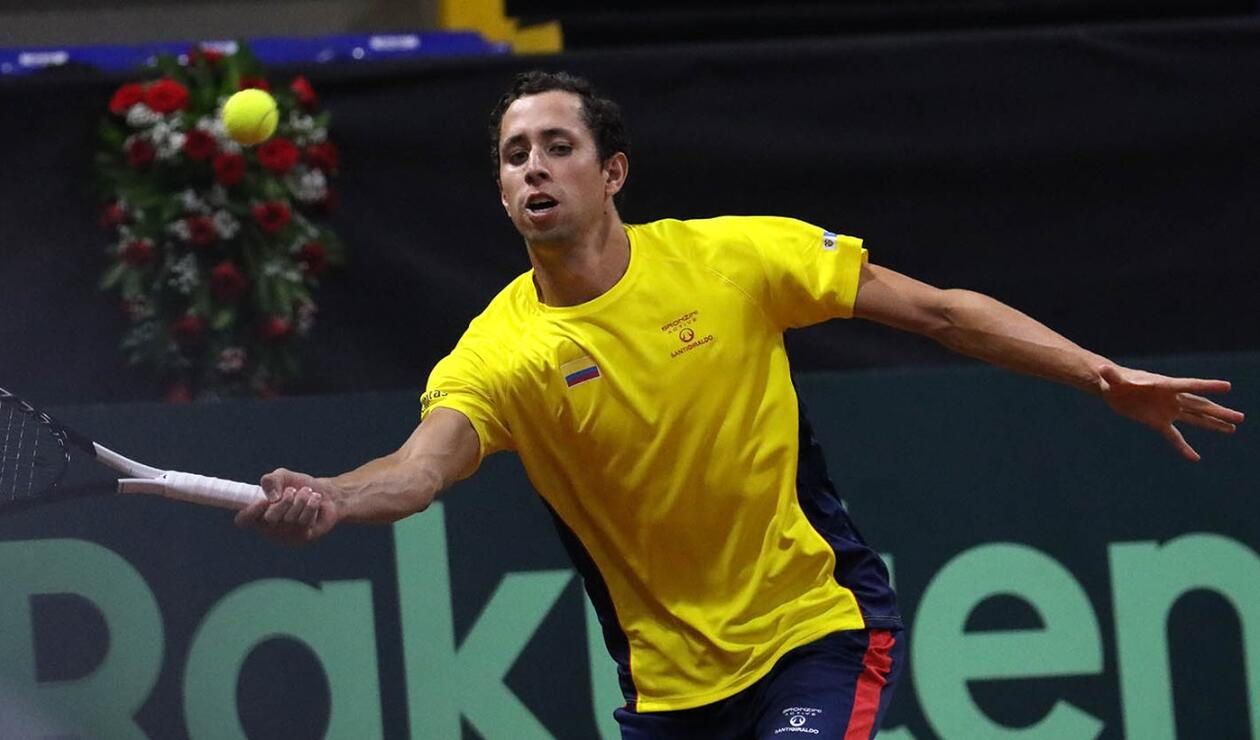Daniel Galán - Copa Davis 2020