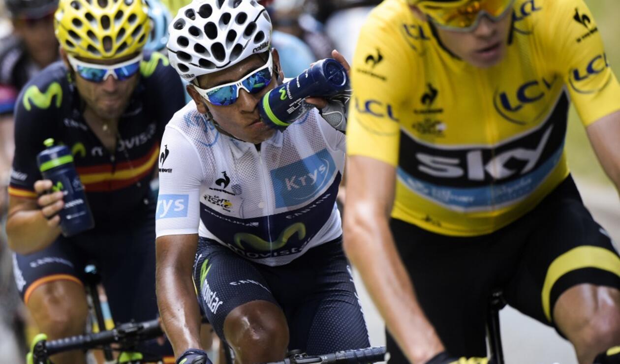 Nairo Quintana, Chris Froome, Alejandro Valverde, Tour de Francia