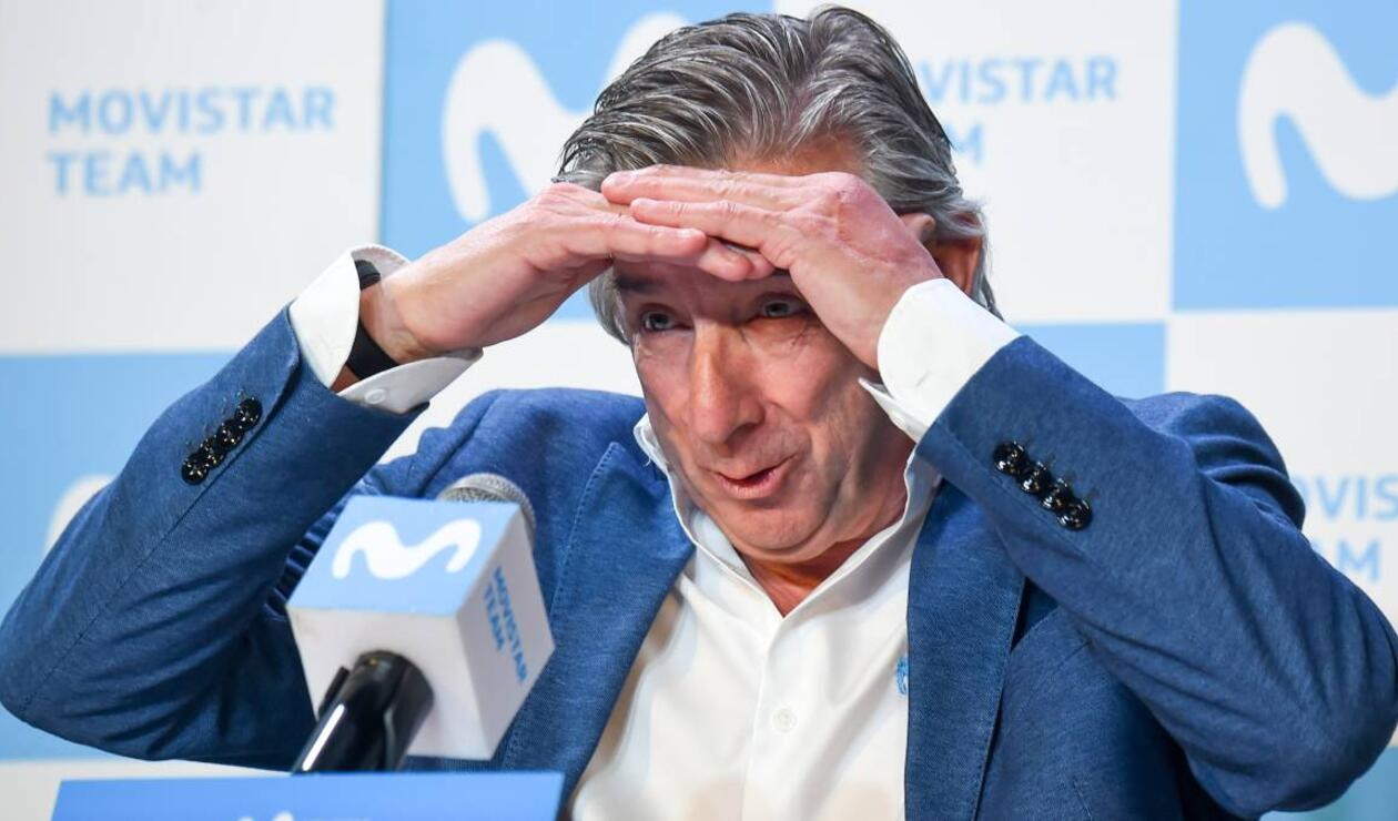 Eusebio Unzue, director del Movistar Team