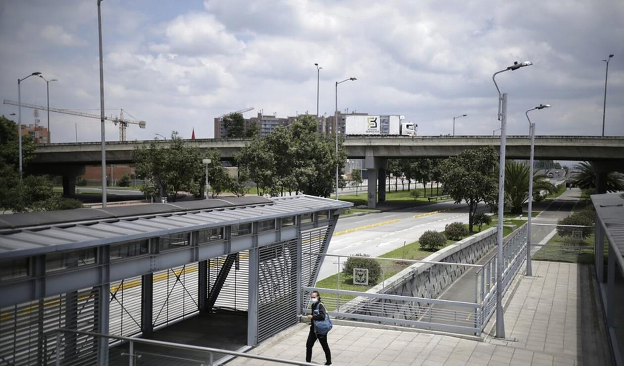 Así luce Bogotá en cuarentena decretada por coronavirus