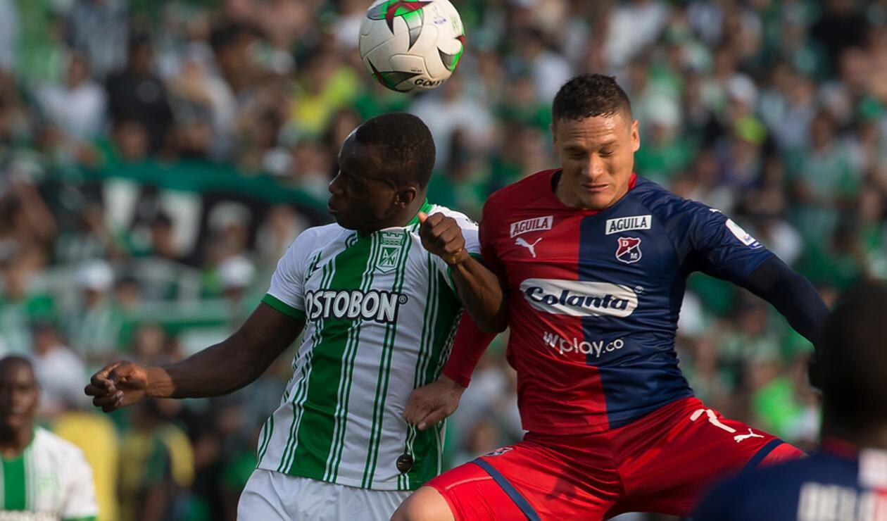 Nacional vs Medellín - Liga Betplay