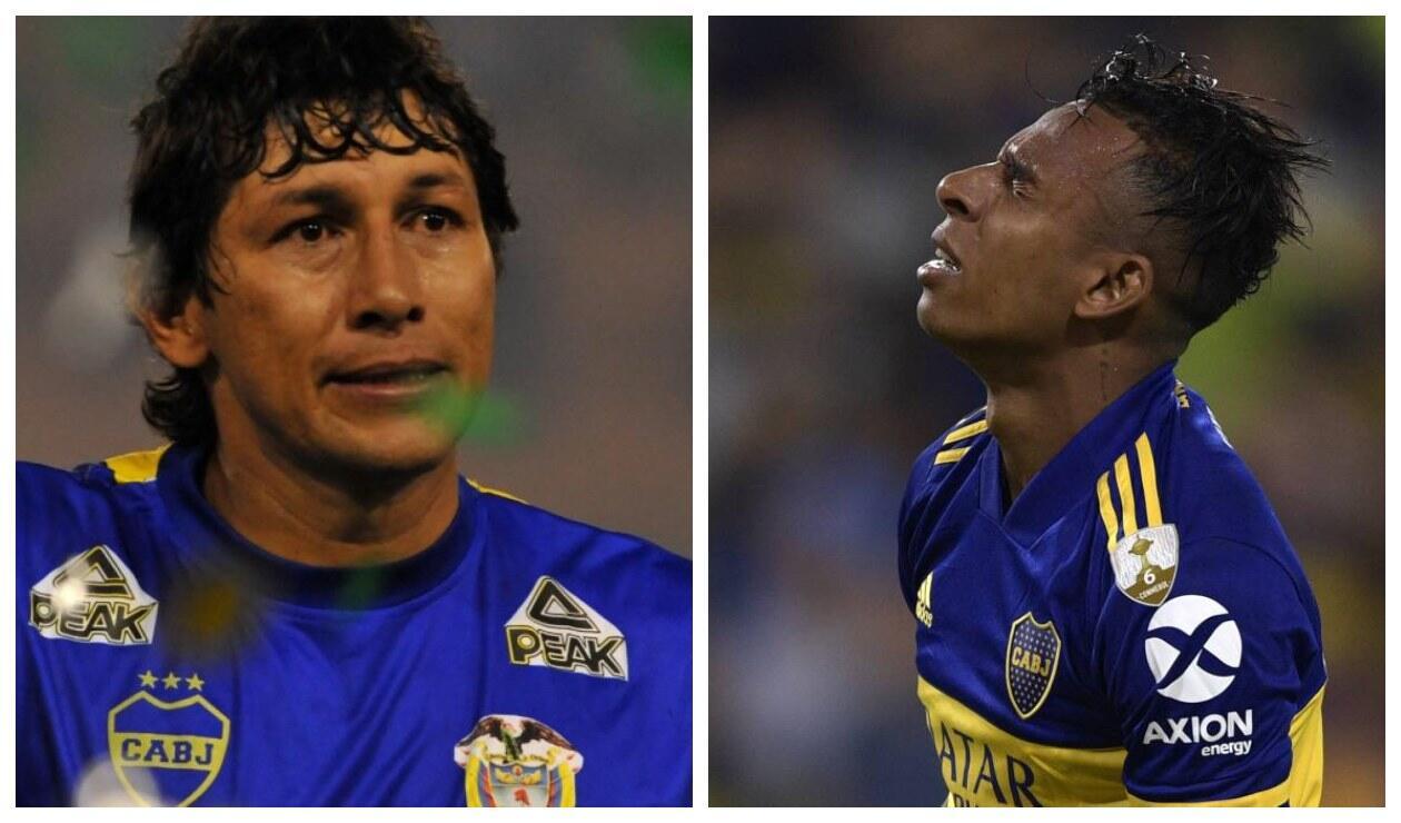 Jorge Bermúdez y Sebastián Villa - Boca Juniors