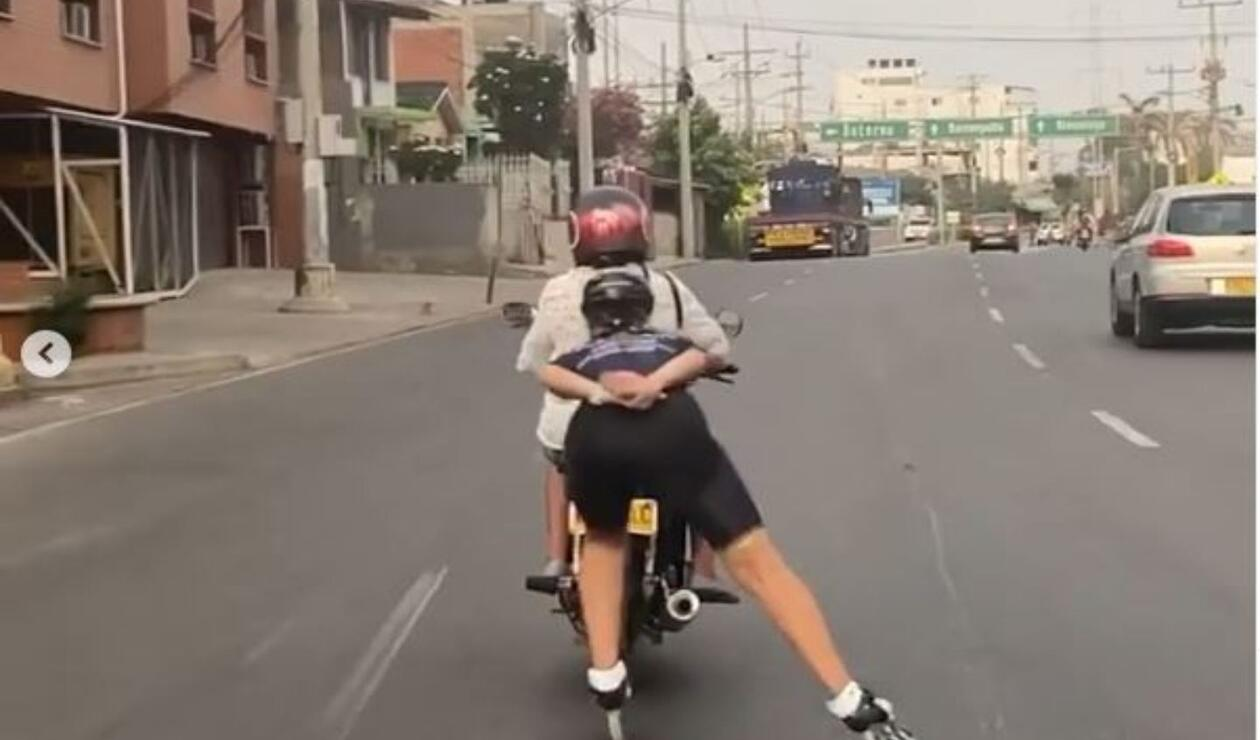 Patinadora colombiana