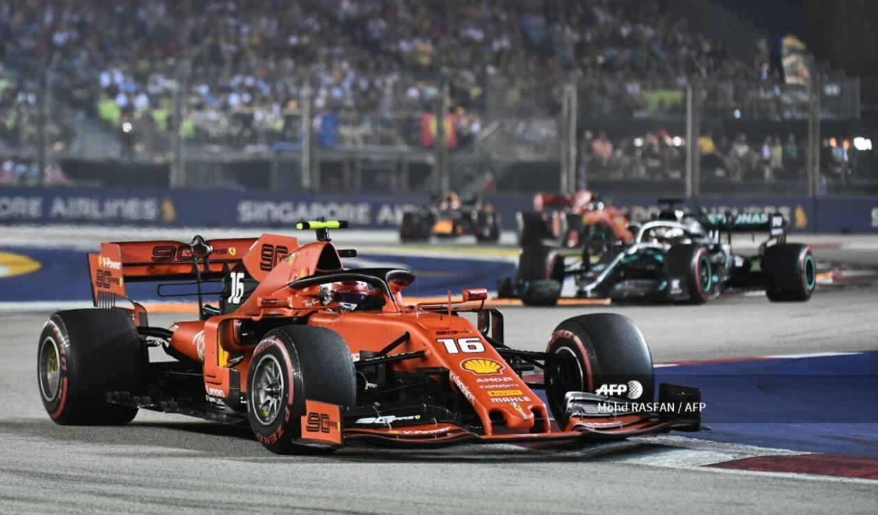 Gran Premio de Singapur, Fórmula 1
