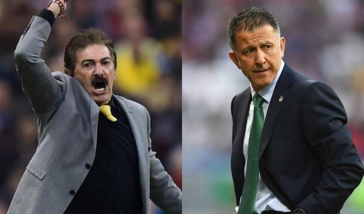 La Volpe y Juan Carlos Osorio