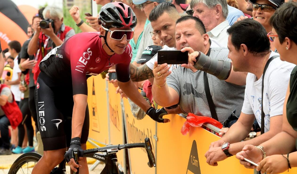Sebastián Henao, ciclista colombiano del Team Ineos