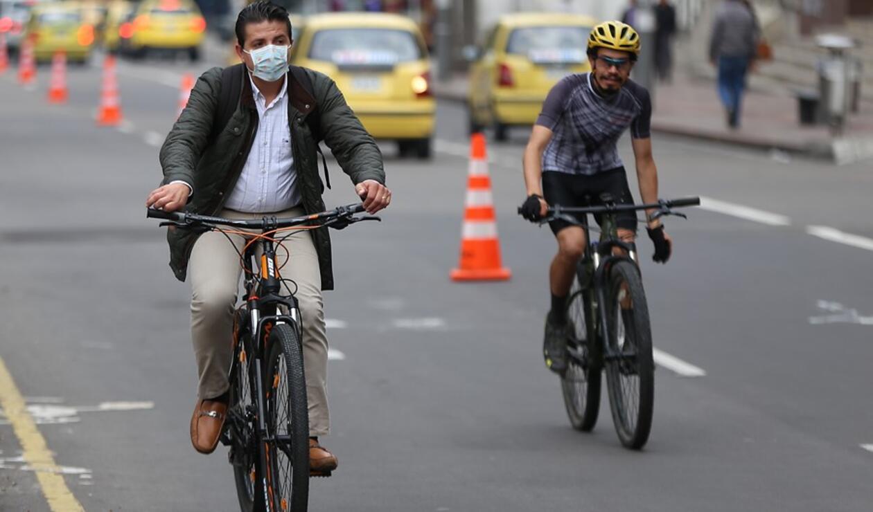 Ciclismo en Bogotá