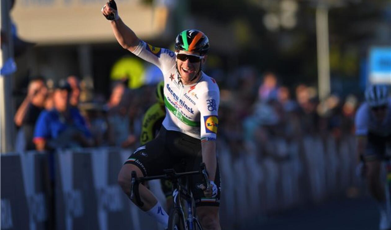 Sam Bennett, ciclista del Deceuninck Quick Step
