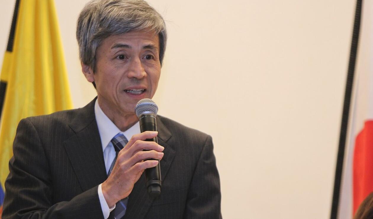 Keiichiro Morishita, embajador de Japón en Colombia
