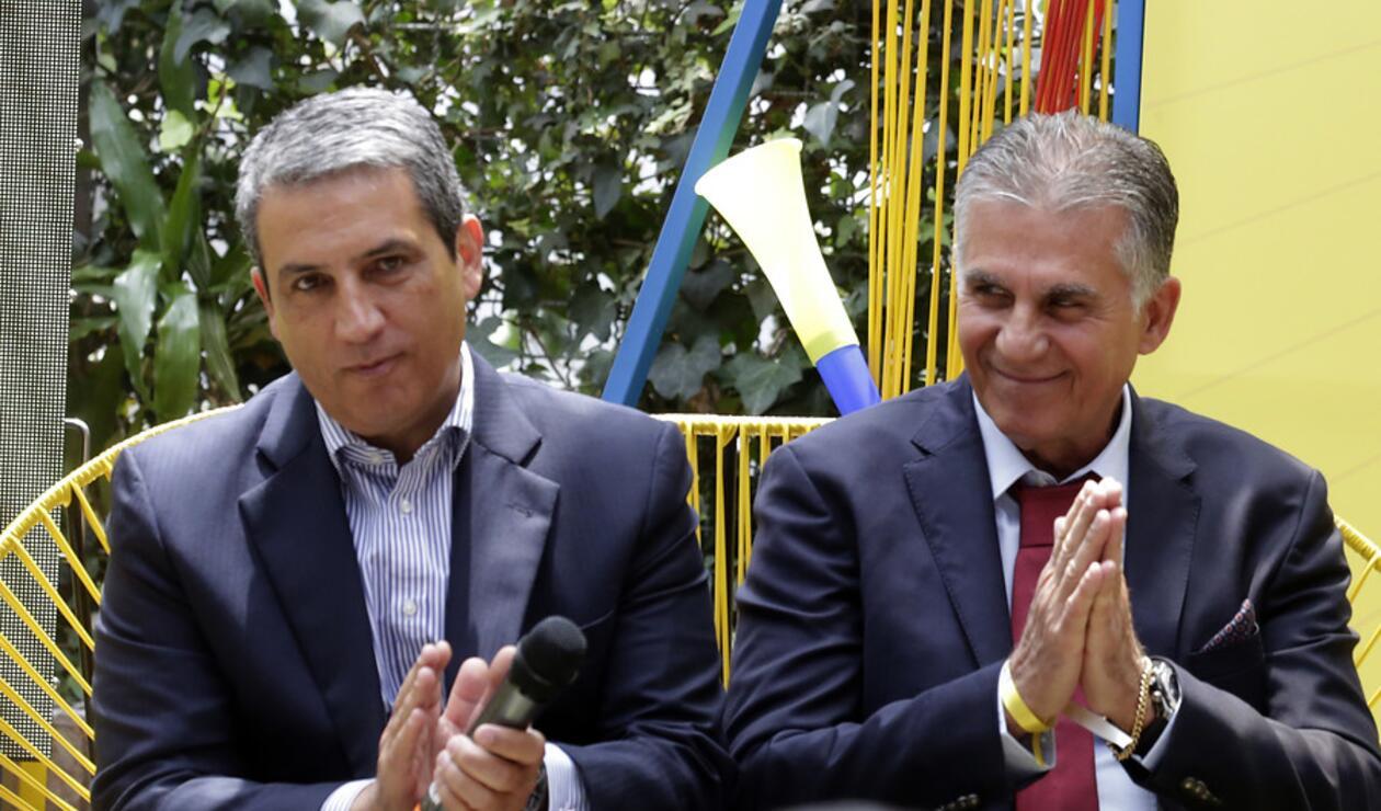 Fernando Jaramillo, Carlos Queiroz