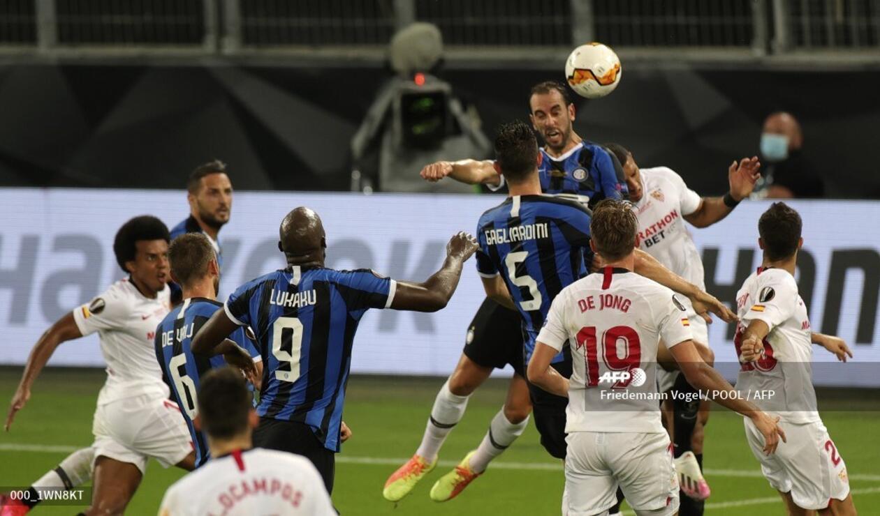Sevilla vs Ínter de Milán, Europa League