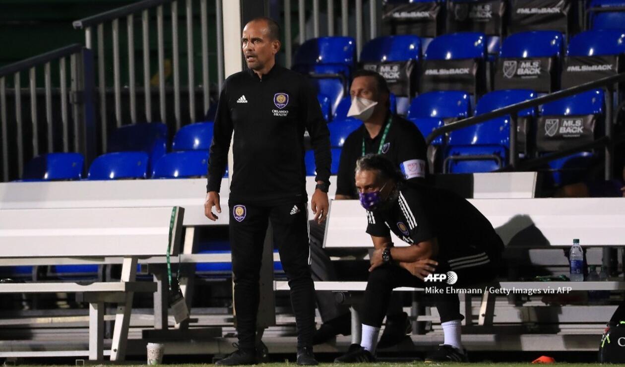 Óscar Pareja, técnico colombiano en la MLS