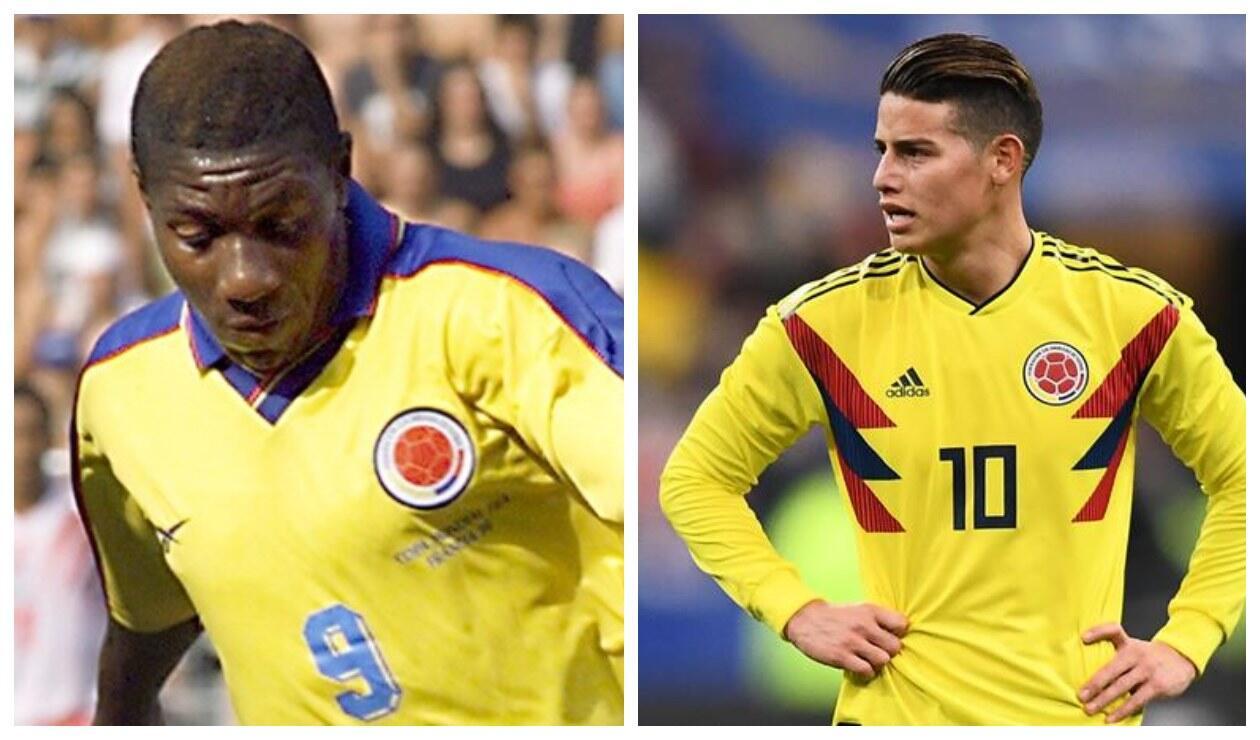 Tren Valencia y James Rodríguez - Selección Colombia