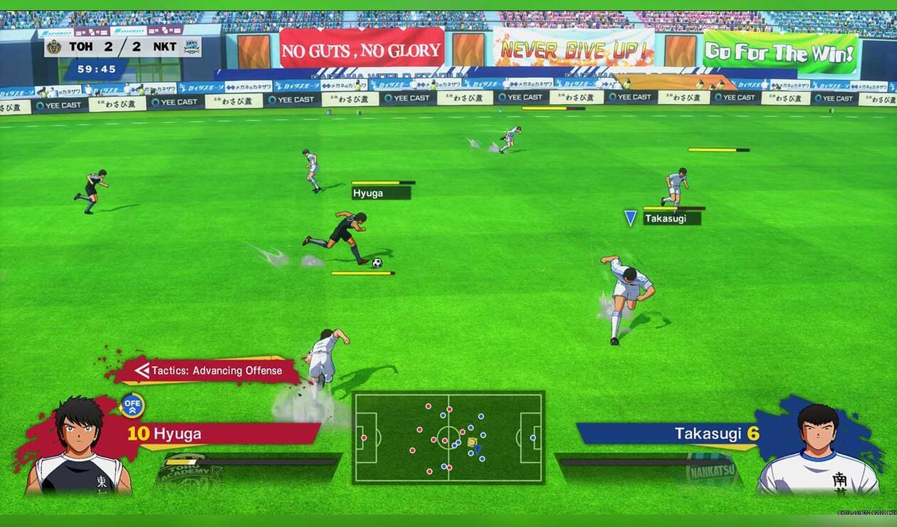 Partido Captain Tsubasa: Rise of New Champions