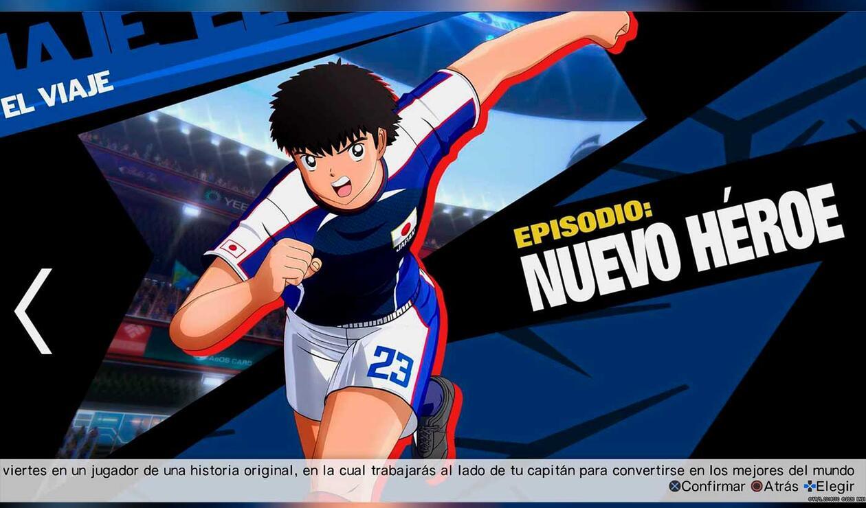 Opciones de Captain Tsubasa: Rise of New Champions