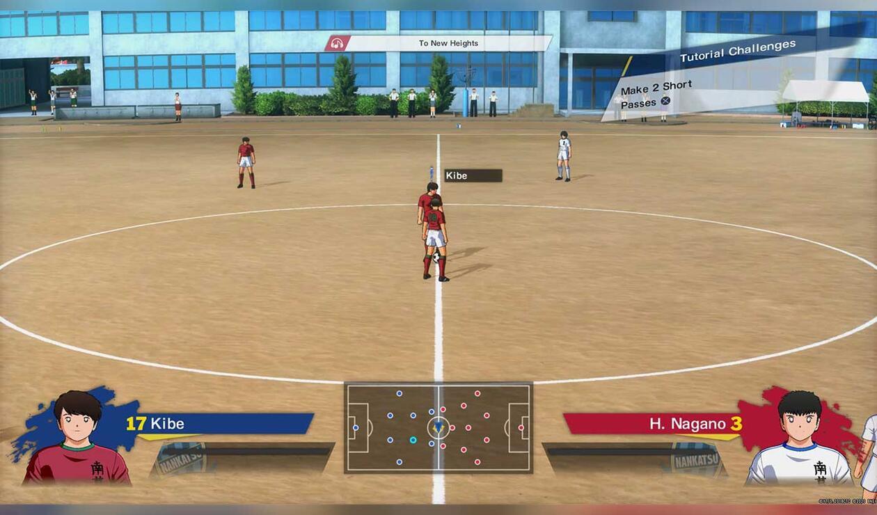 juego de Captain Tsubasa: Rise of New Champions