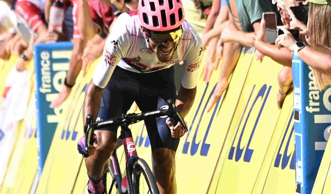 Daniel Felipe Martínez, ciclista colombiano