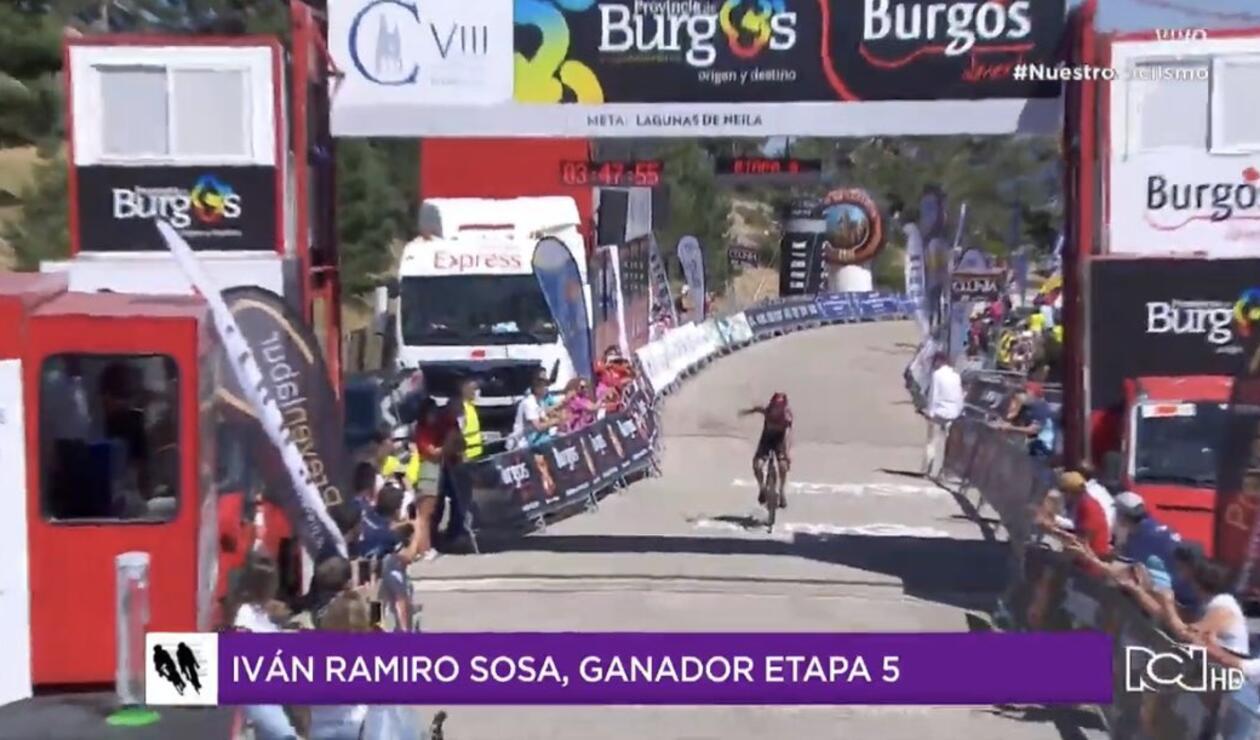 Iván Sosa - Vuelta a Burgos 2020