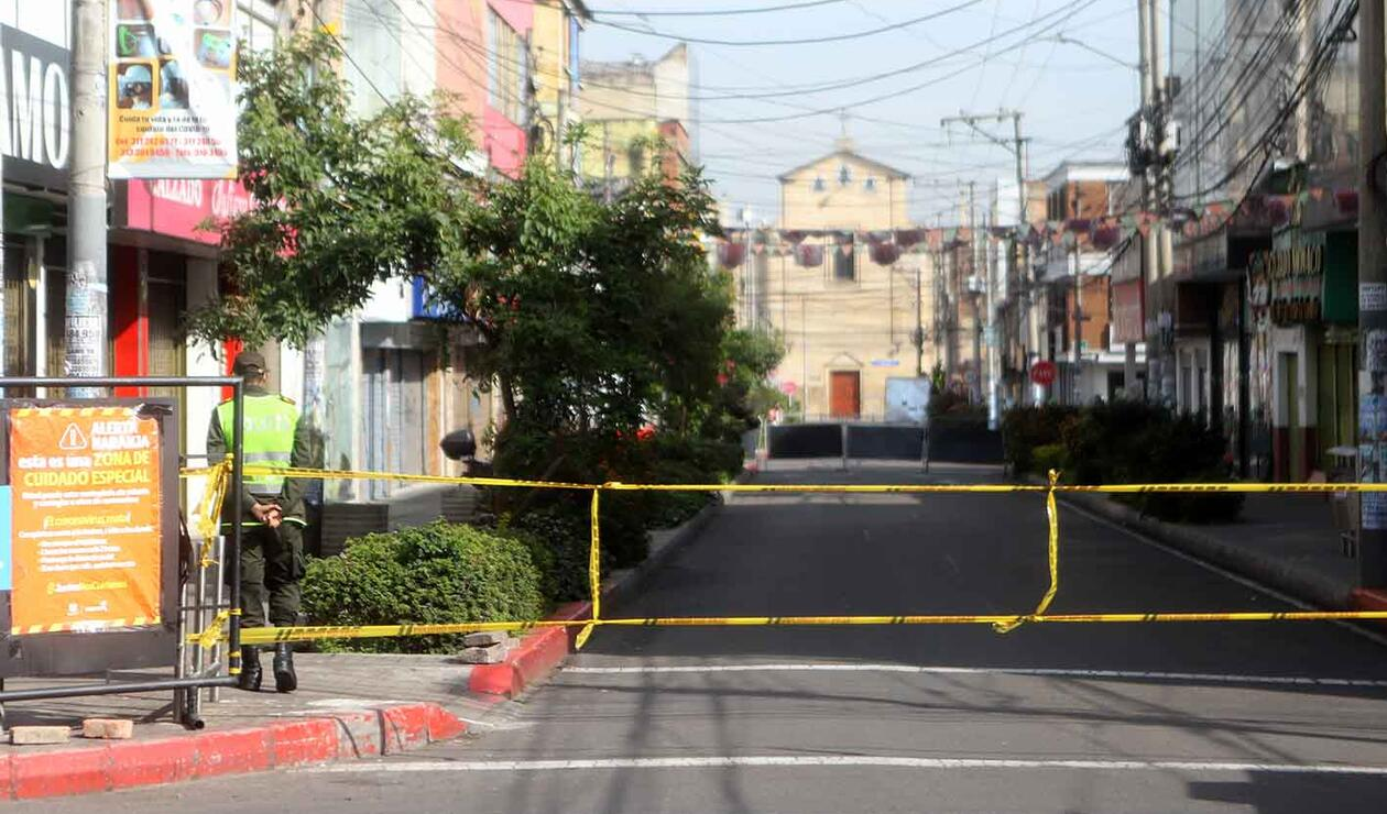 Localidades en cuarentena / protesta de comerciantes por nueva cuarentena sectorizada