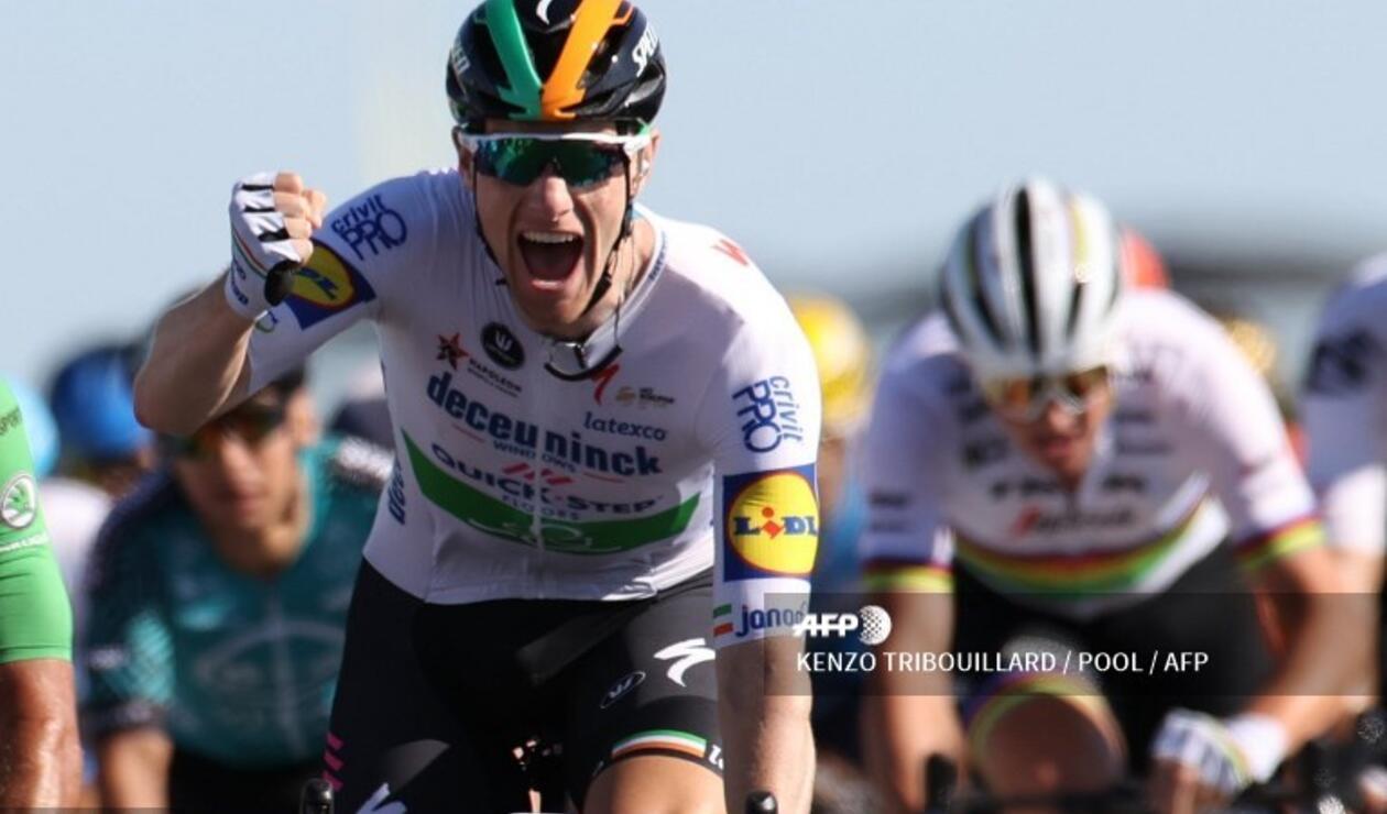 SamBennett, ciclista del Quick