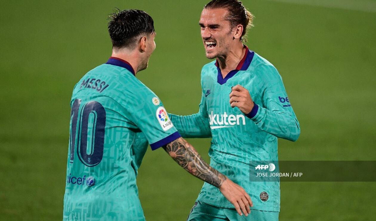 Antoine Griezmann y Lionel Messi - Barcelona 2020