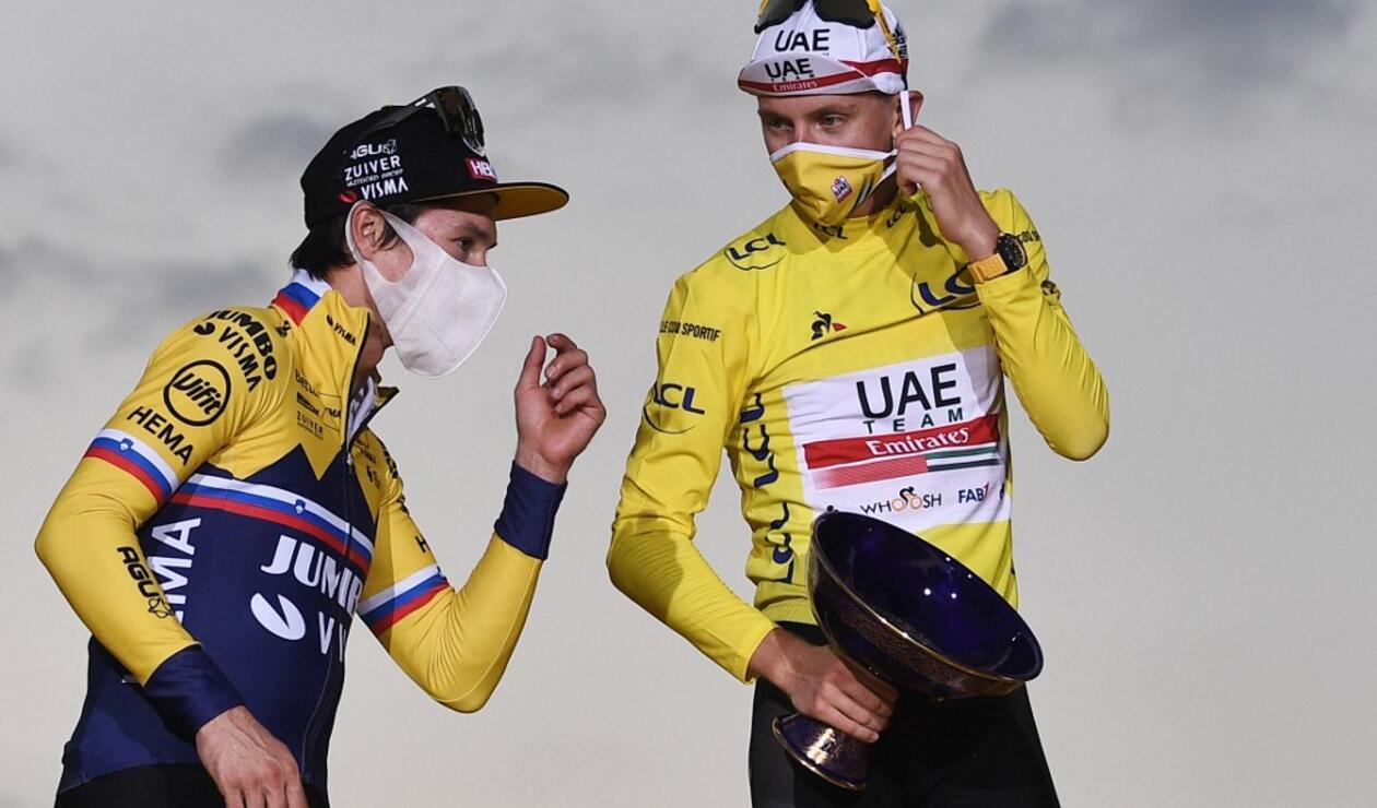 Tadej Pogacar, UAE, Tour de Francia.