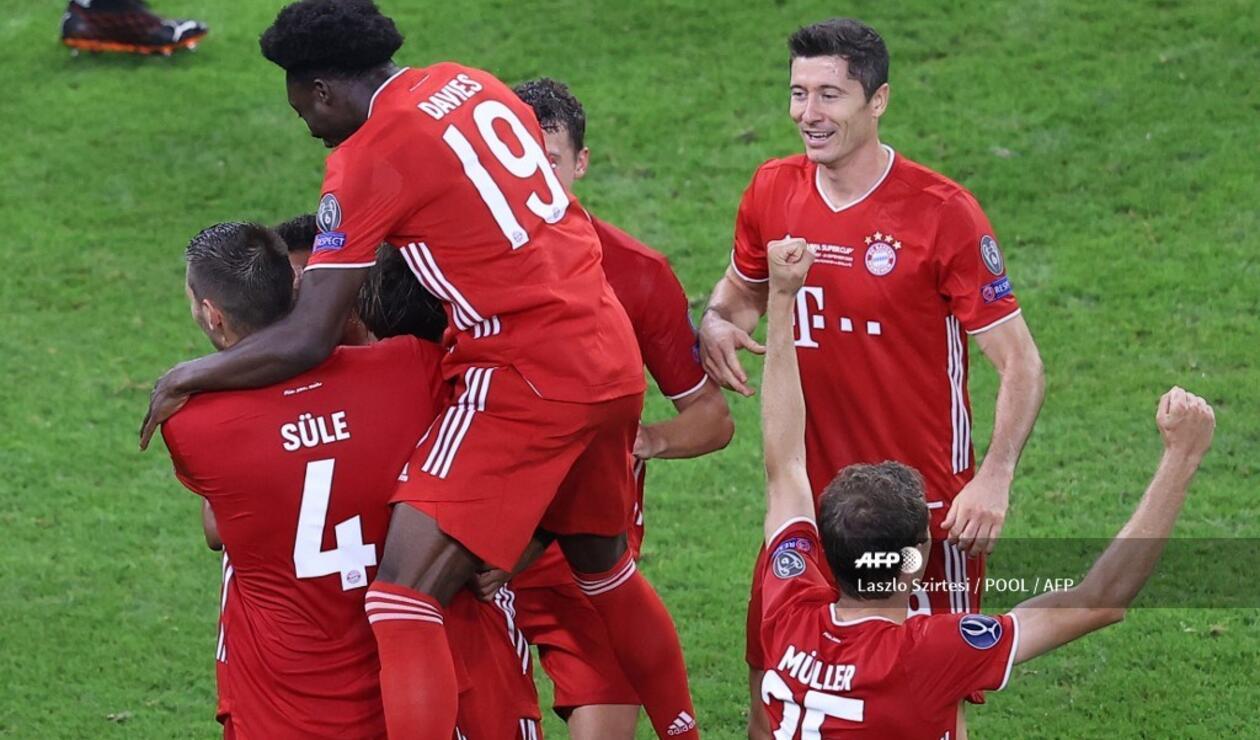 Bayern Munich, campeón Supercopa