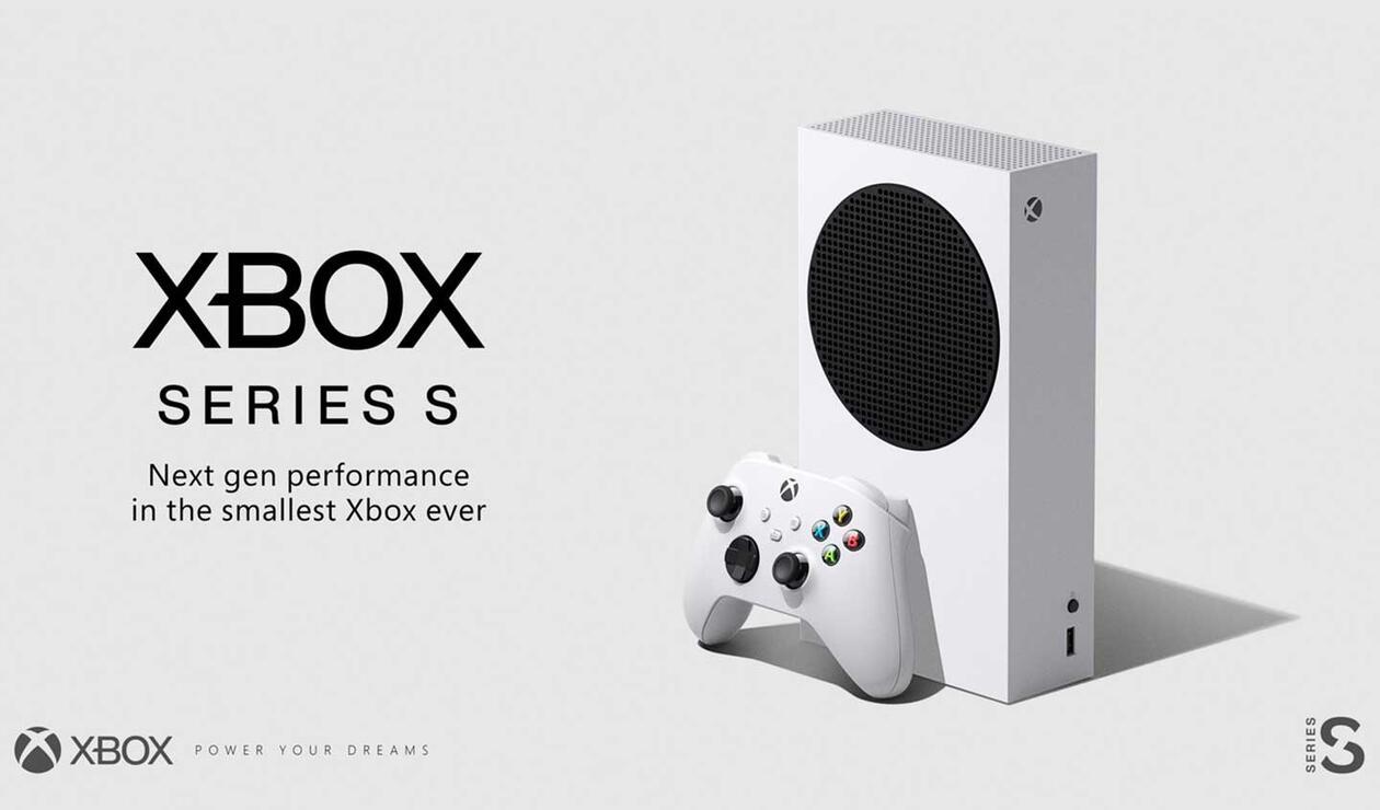 Xbox Series S, consola más delgada
