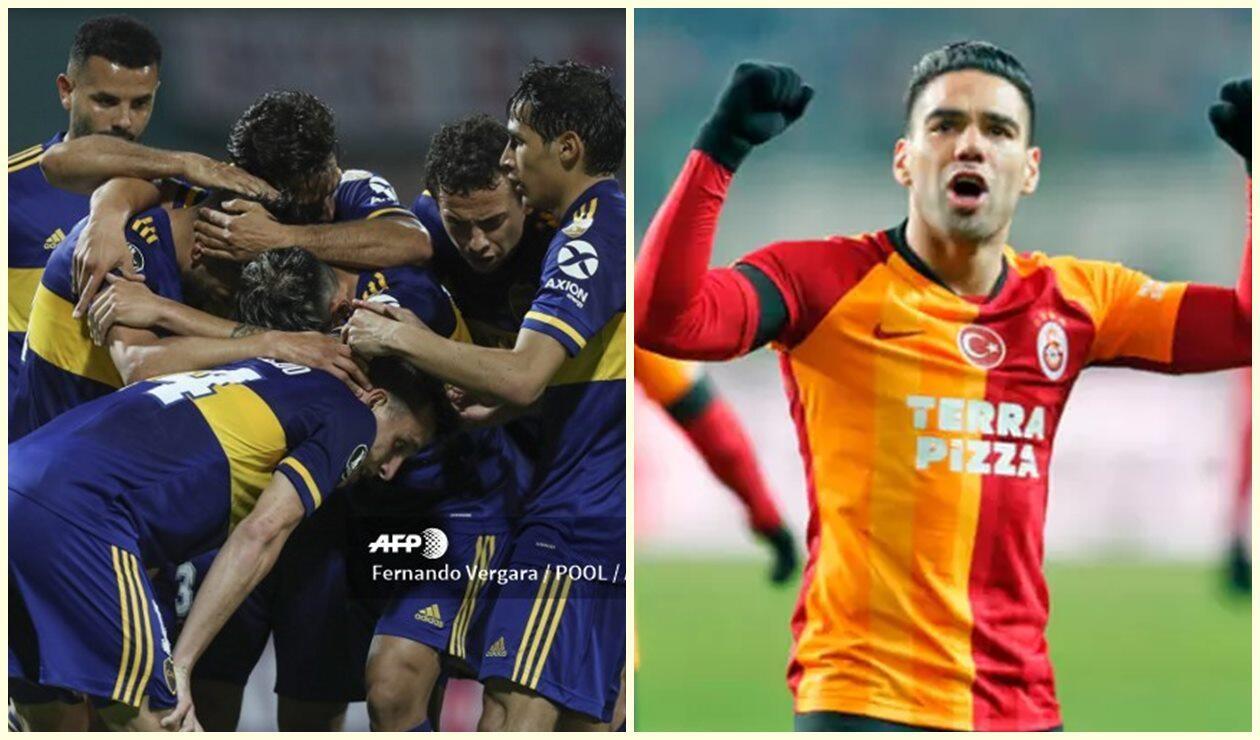 Boca Juniors - Falcao García, jugador de Galatasaray