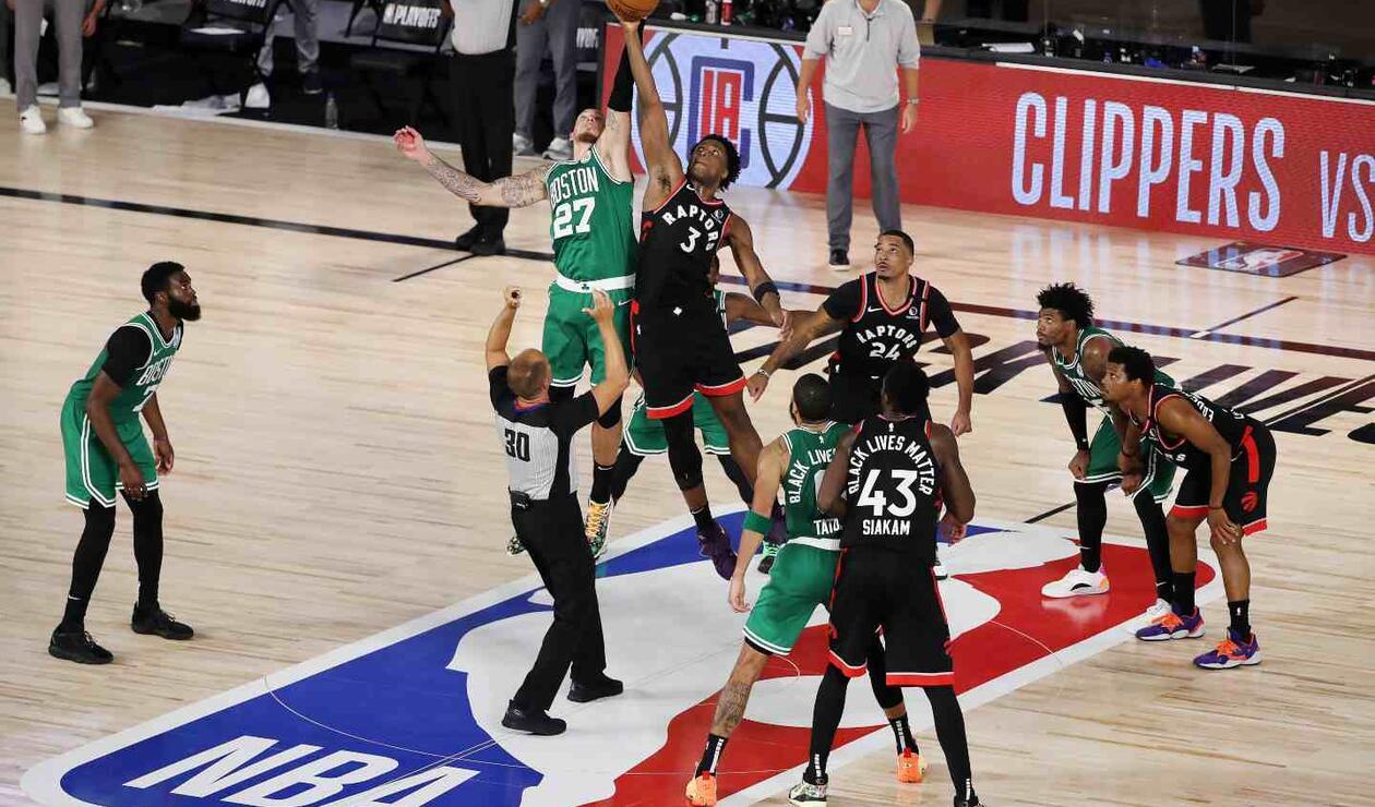 Raptors Vs. Celtics