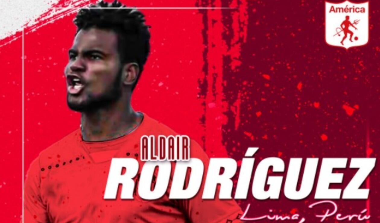 Aldair Rodríguez - América de Cali