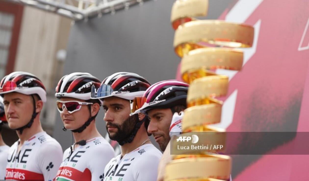Fernando Gaviria, Giro de Italia