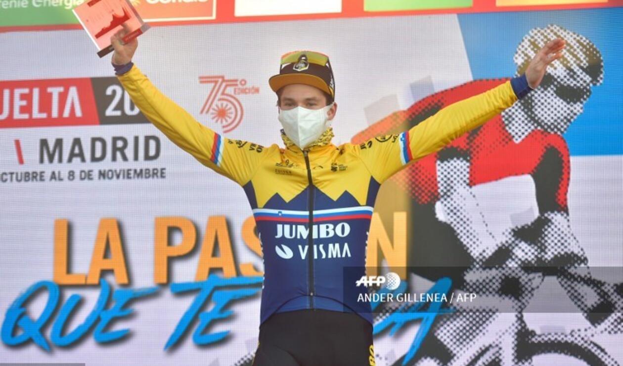 Primoz Roglic disputa la Vuelta a España 2020
