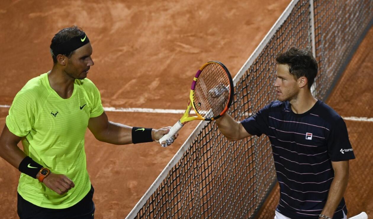 Rafael Nadal, Diego Schwartzman, Roland Garros