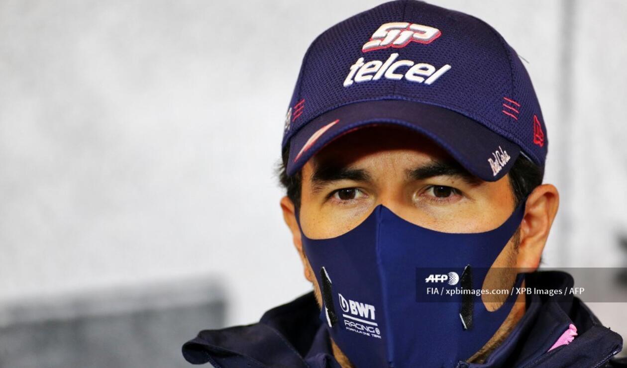 Checo Pérez, Fórmula 1