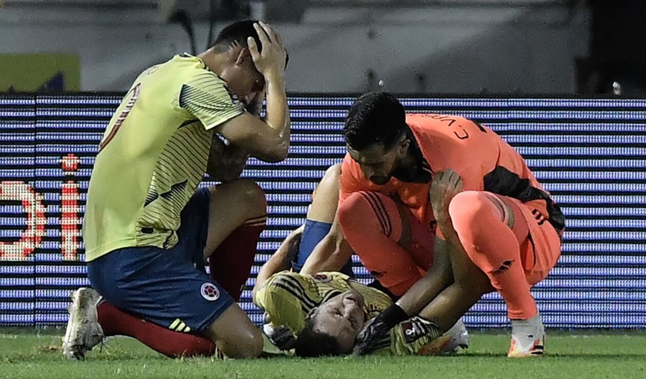 Lesión de Santiago Arias, Selección Colombia