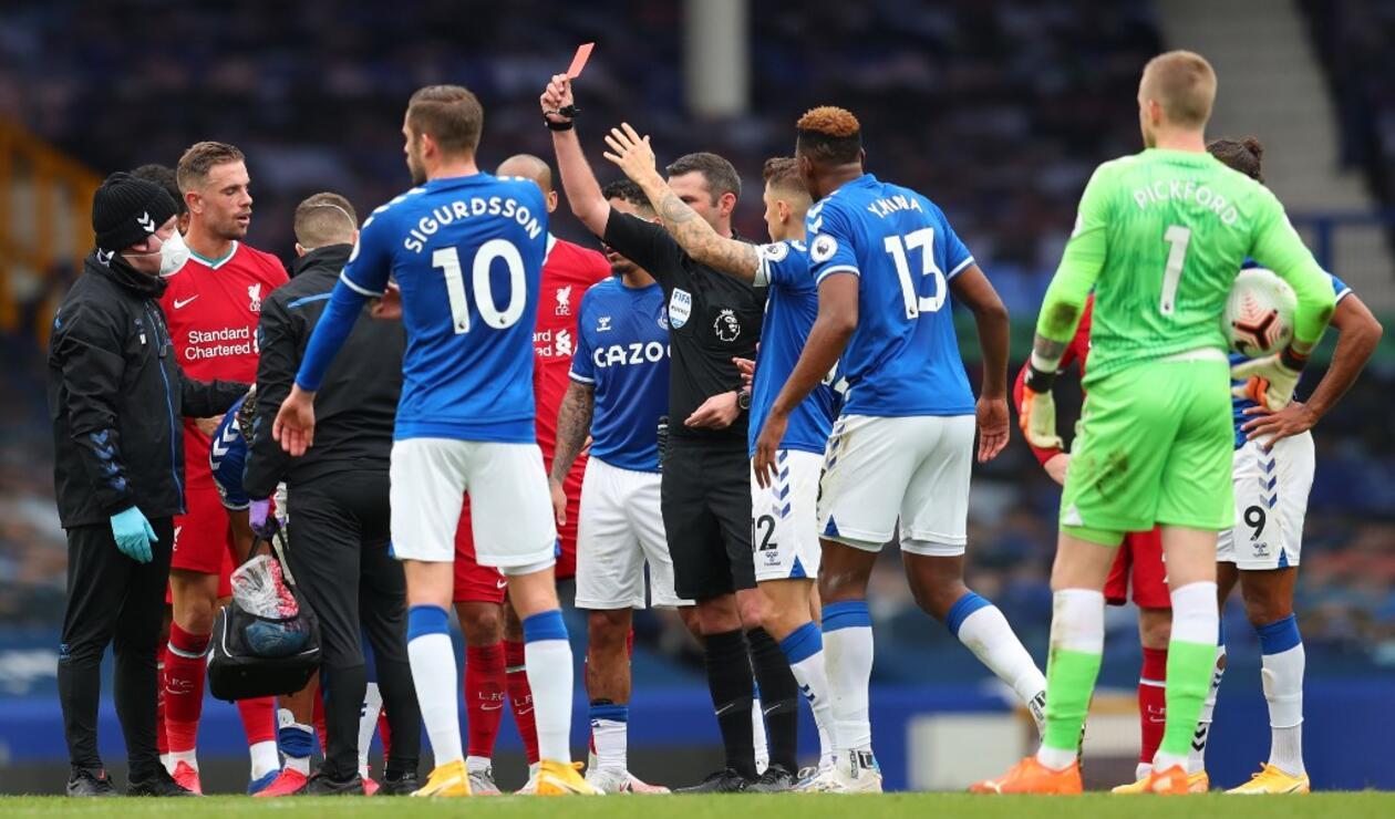 Everton vs Liverpool, Premier League