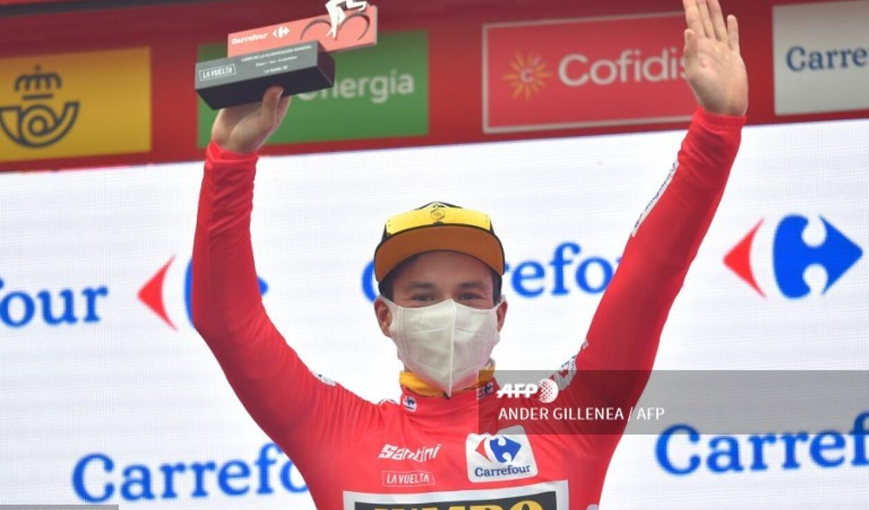 Primoz Roglic, ciclista esloveno