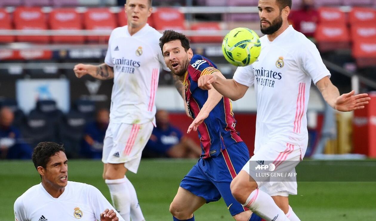 Barcelona vs Real Madrid 2020