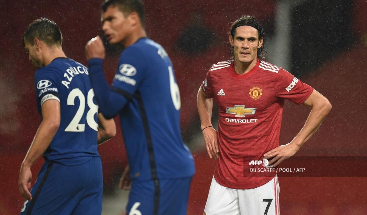 Manchester United, Chelsea, Edison Cavani