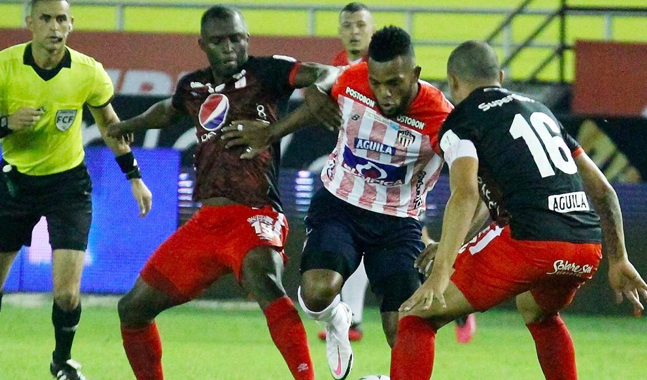 Junior vs América; Liga Betplay
