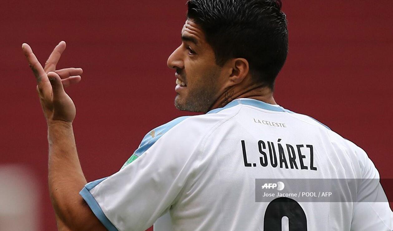 Luis Suárez, jugador de Uruguay