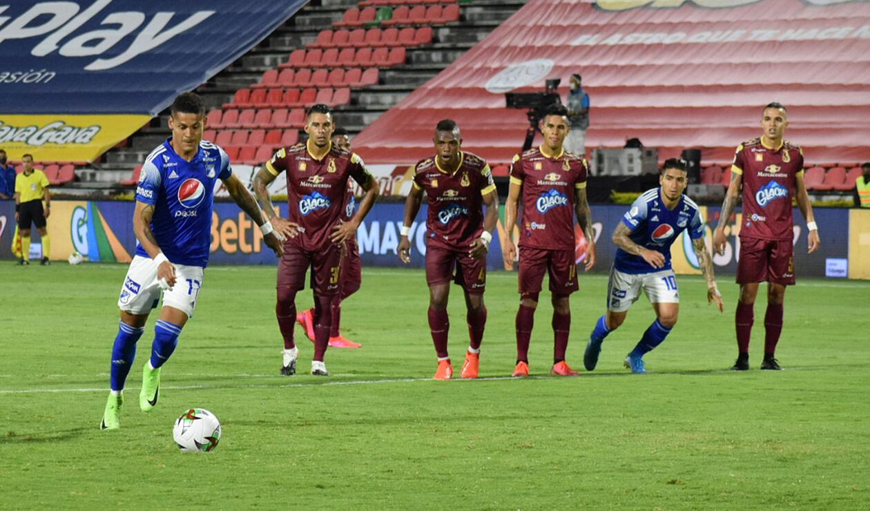 Deportes Tolima vs Millonarios - Liga Betplay, fecha 12
