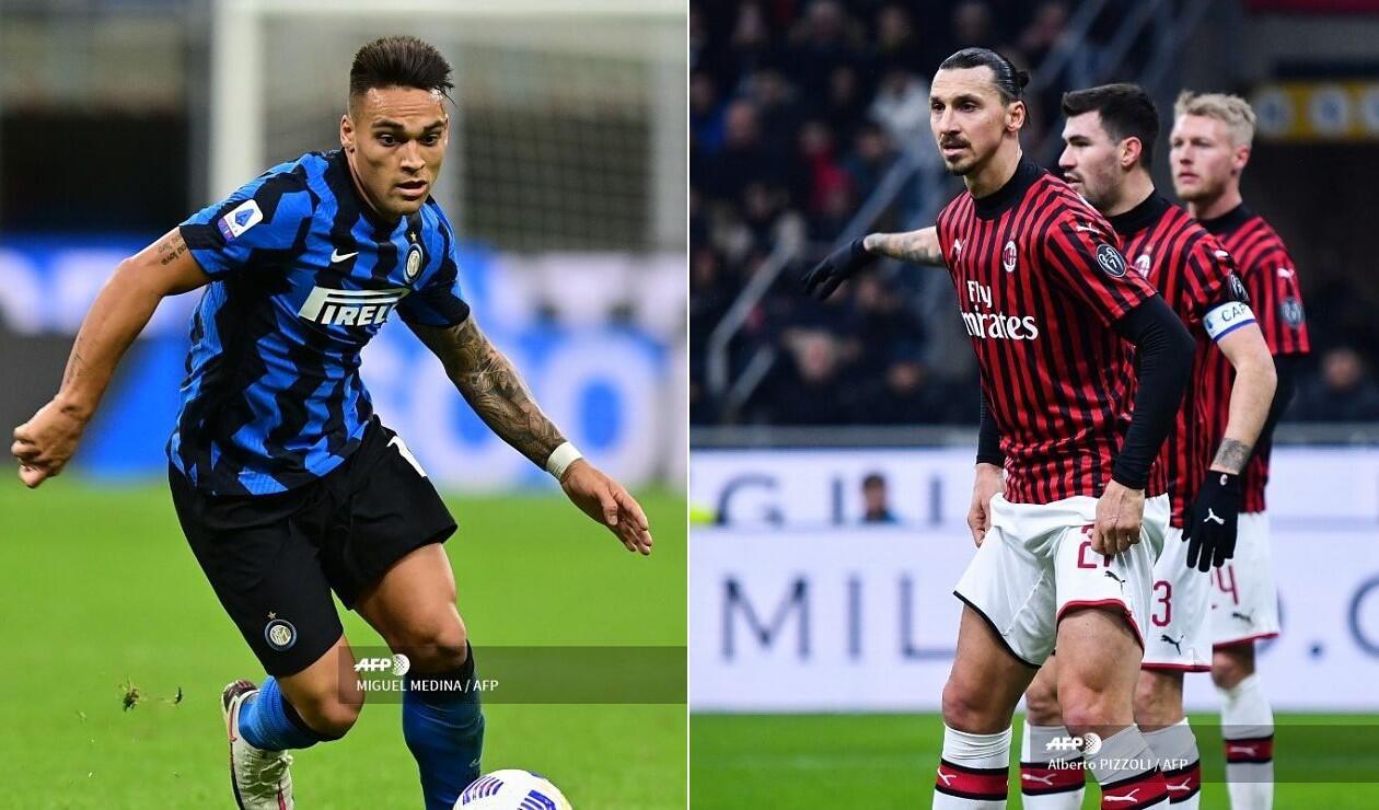Inter vs Milan, Serie A