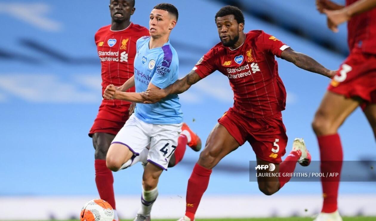 Manchester City vs Liverpool, Premier League