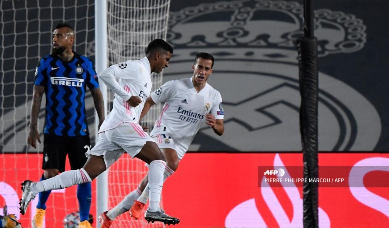 Real Madrid vs Inter - Champions League