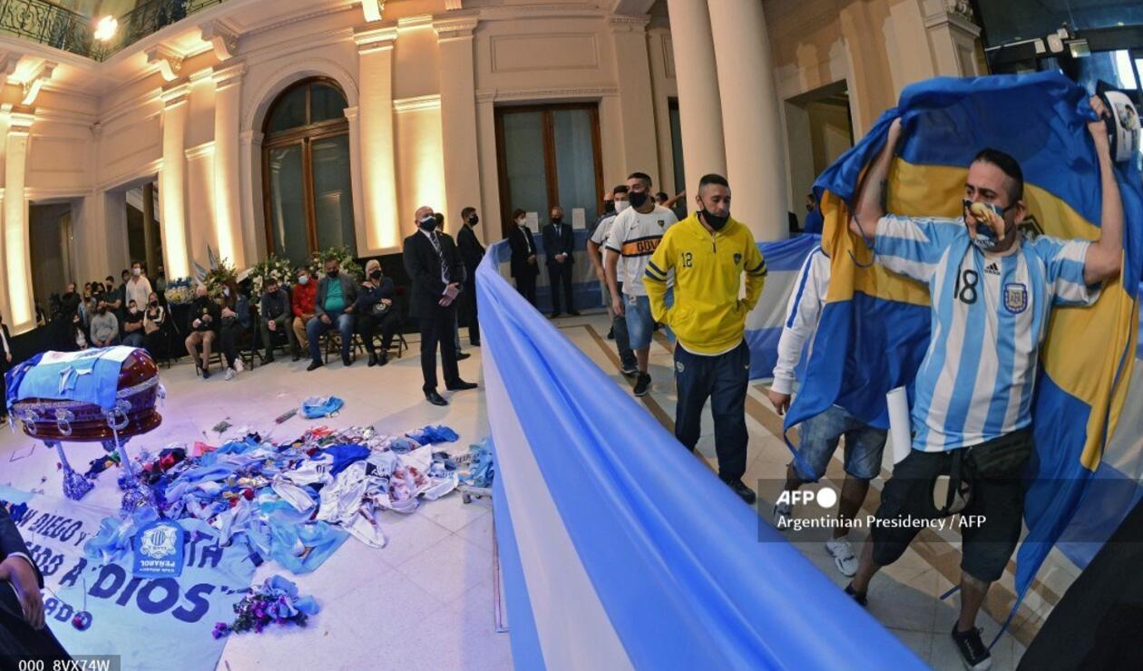 Sepelio de Diego Maradona